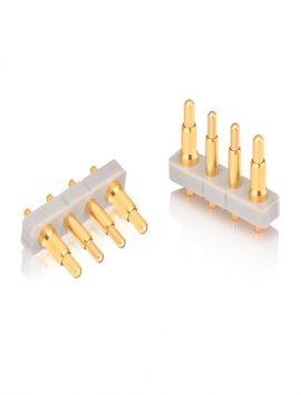 4Pin Dip pogo pin 2.54mm Pitch