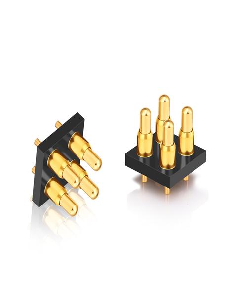 4Pin Dip pogo pin 2.5mm Pitch