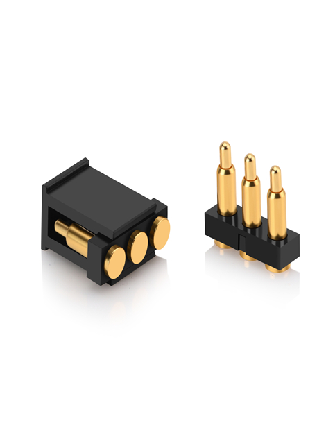 3Pin SMT pogo pin 2.5mm pitch